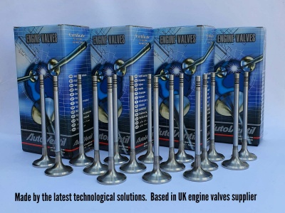 Set of 16 engine valves for Subaru Forester 2.0 Turbo EJ20 16V