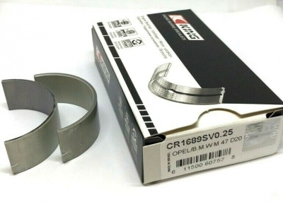 King Con rod bearings 0.25 for BMW M47D20, M57D30, M21D24
