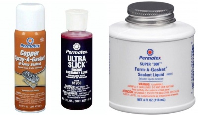 "Permatex® Super ""300"" Form-A-Gasket® & COPPER SPRAY & ULTRA SLICK ASSEMBLY LUBE"