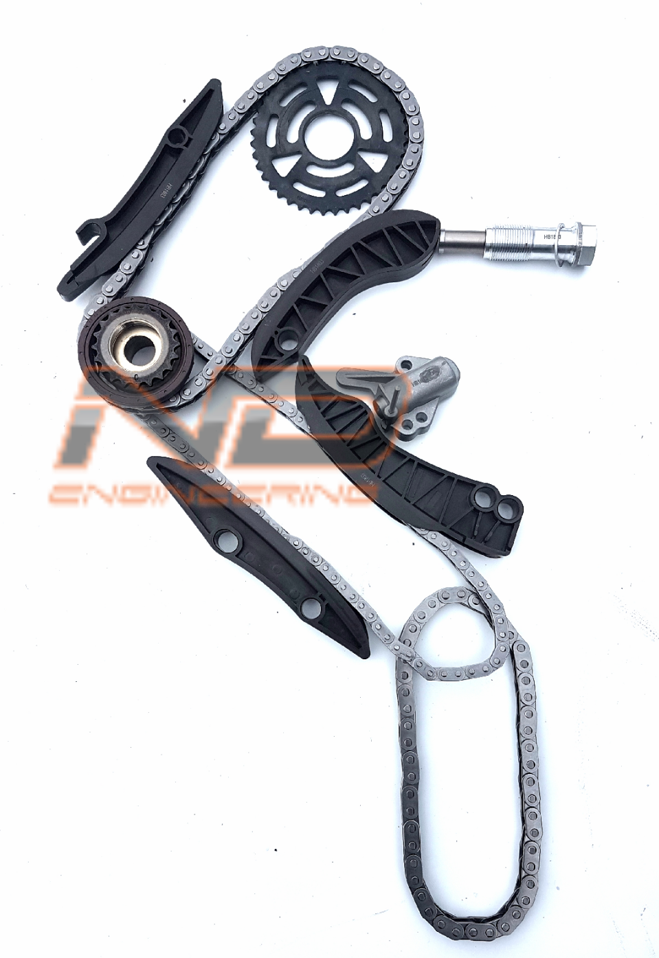 Complete Timing Chain Kit For Bmw Mini N47 20 Diesel