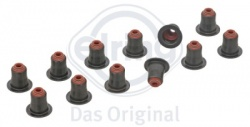 Elring set of 12 valve stem seals 5mm for BMW N52B30