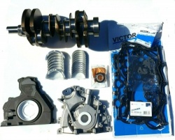 SET OF OEM QUALITY CRANKSHAFT, OIL PUMP, BEARINGS, HEAD GASKETS, SEALS, RINGS FOR RANGE ROVER 3.0 TDV6