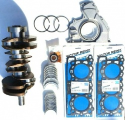 OEM QUALITY CRANKSHAFT, RINGS & HEAD GASKETS BEARINGS, SEALS FOR RANGE ROVER 3.0 TDV6